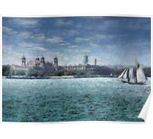 NY - Ellis Island Poster