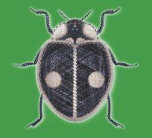 LadyBug - Black Baby Tee
