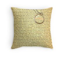 Enjolras & Grantaire From The Brick Throw Pillow