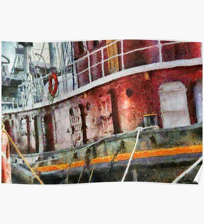 NY - Lil' Tugboat Poster