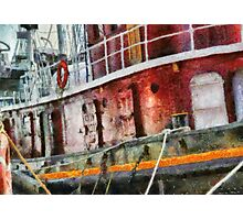 NY - Lil' Tugboat Photographic Print