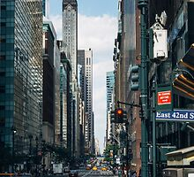 East 42nd. & Madison by Jasper Smits