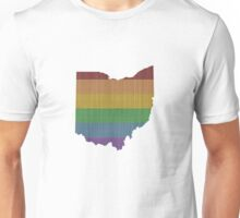 Ohio Rainbow Gay Pride Unisex T-Shirt