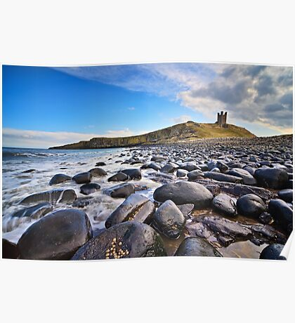 Dunstanburgh Castle - Northumberland Coast Poster