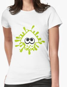 INKLING SQUID - LIME Womens Fitted T-Shirt