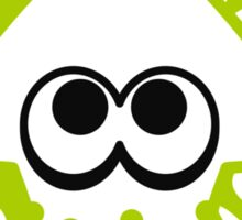 INKLING SQUID - LIME Sticker