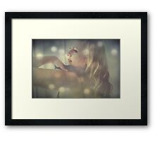 Stripping Away The Layers Framed Print