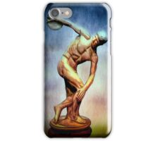 A Study of The Discus Thrower iPhone Case/Skin