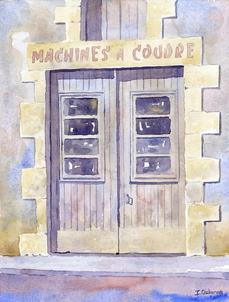 Old shop doorway, Javerlhac, France by ian osborne