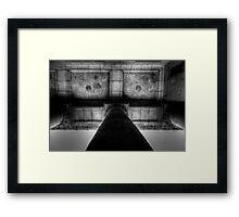 Courthouse Gothic Framed Print