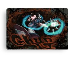 Chun Li Street Fighter Canvas Print