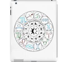 Zodiac Clock iPad Case/Skin