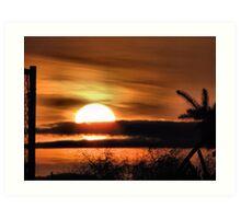 Easter Sunrise...2010 #2 Art Print