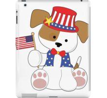 Cute Puppy Fourth of July iPad Case/Skin