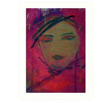 Cerise Pleasures Art Print