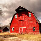 Ye Old Red Barn by Larry Trupp
