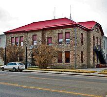 Sweet Grass County, Montana, Court House by Bryan D. Spellman