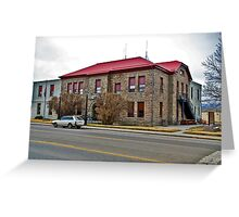 Sweet Grass County, Montana, Court House Greeting Card