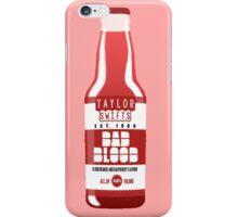 Taylor Swift's Bad Blood Bottle Advertisement iPhone Case/Skin