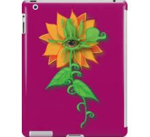 Amber-Eyed Flower iPad Case/Skin