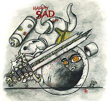 Happy Sad Armor by HappySadGuy