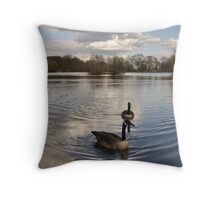 Look at Moi Ploise Throw Pillow