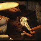 an artist's hand by elisabeth tainsh