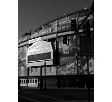 Wrigley field..home of the cubbies Photographic Print