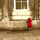 Little Girl in Red Riding Hood outfit by JanMurphy