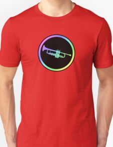 Colorful Trumpet Sign  T-Shirt