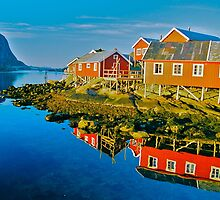 Reine . Lofoten . Norway . Views: 9813. Has been sold. by © Andrzej Goszcz,M.D. Ph.D