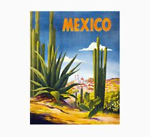 Mexico Vintage Poster Restored Unisex T-Shirt