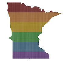 Minnesota Rainbow Gay Pride by surgedesigns