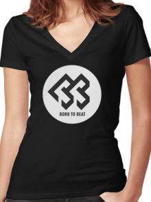 BTOB Women's Fitted V-Neck T-Shirt