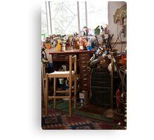 Redstone Workshop Canvas Print