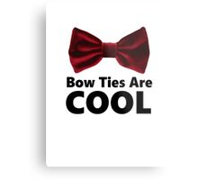 Bow Ties Are Cool - Phone Case Metal Print