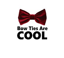 Bow Ties Are Cool - Phone Case Photographic Print