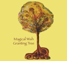 Magical Wish Granting Tree by Helena Bebirian