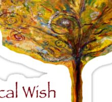 Magical Wish Granting Tree Sticker