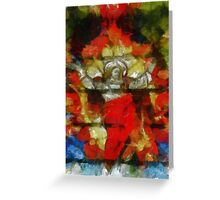 Christ in Glory by Pierre Blanchard Greeting Card