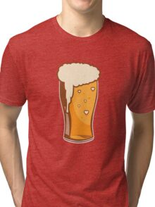 For the Love of Beer Tri-blend T-Shirt