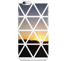 GEOMETRIC SUNSET iPhone Case/Skin