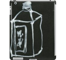 water bottle iPad Case/Skin