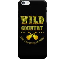 Wild Country music iPhone Case/Skin
