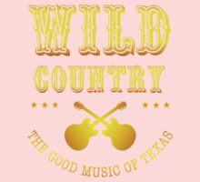 Wild Country music One Piece - Short Sleeve