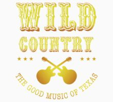 Wild Country music One Piece - Long Sleeve