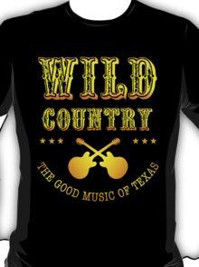 Wild Country music T-Shirt