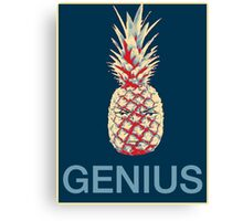 Shikamaru Pinapple Genius  Canvas Print