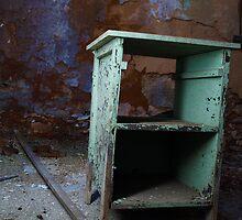 Penitentiary Desk by Denise Sparks