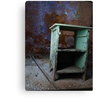 Penitentiary Desk Canvas Print